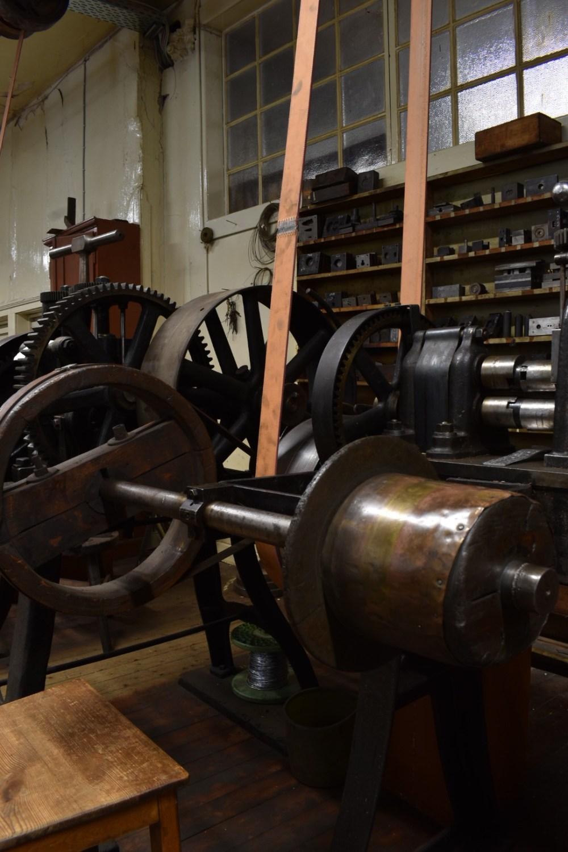 Maschine mit vielen Rädern