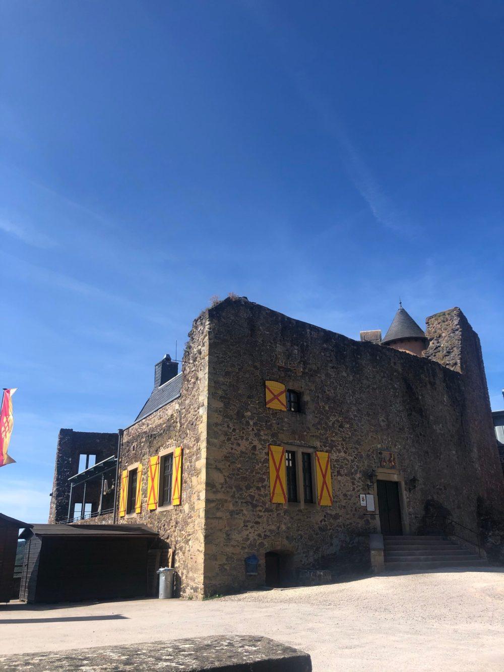 Schloss Oberstein von außen
