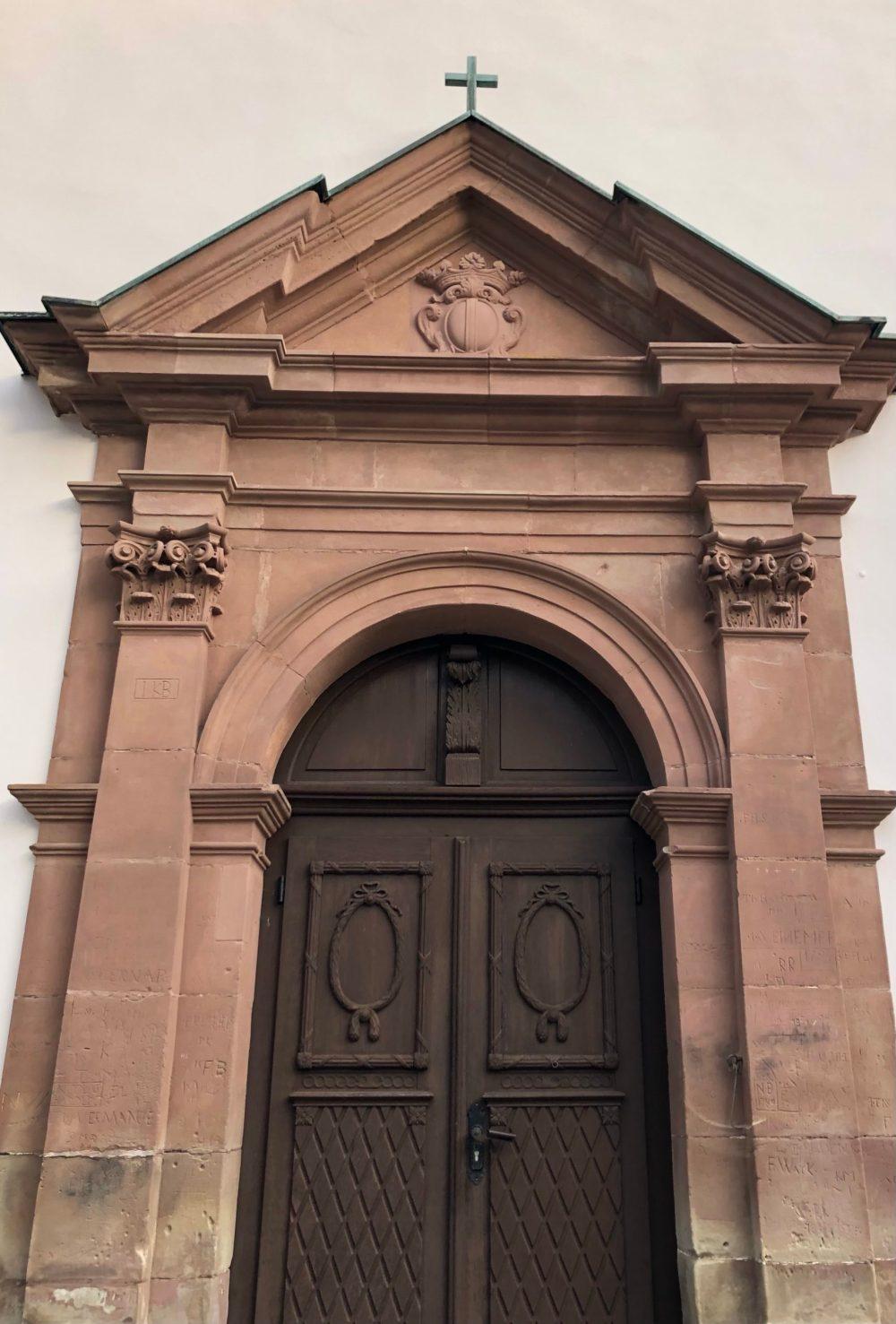 Portal der Klosterkapelle