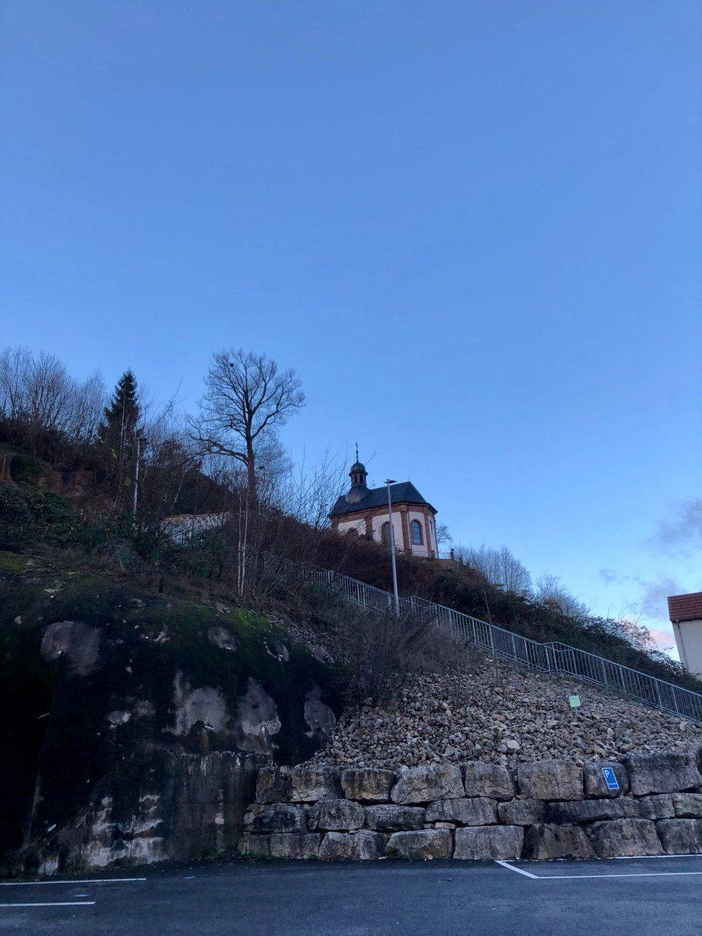 Berg des Wallfahrtskloster und der Heilig-Kreuz-Kapelle in Blieskastel