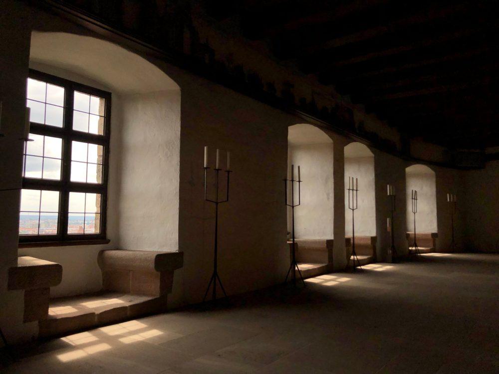 Großer Saal in der Burg