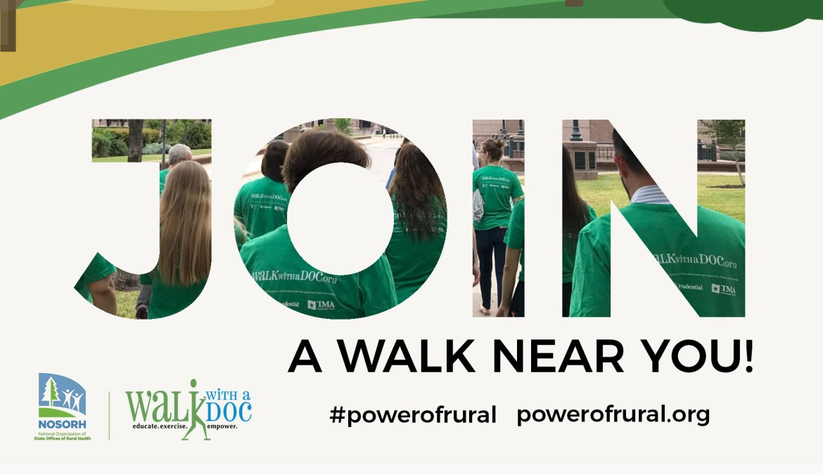 Join a NRHD Walk with a Doc Walk