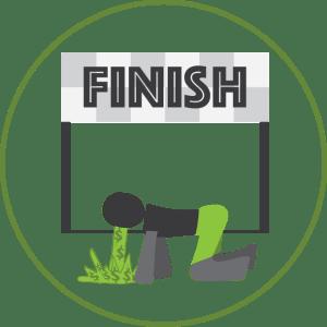 Save Money Finish Line
