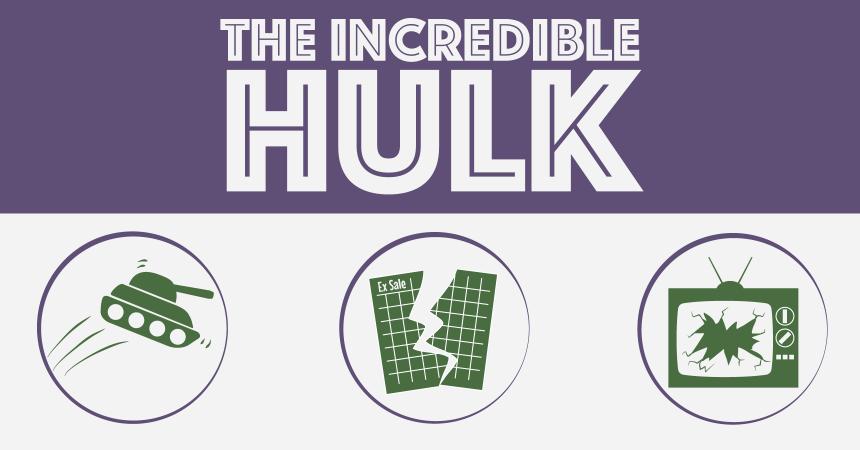 Savings Plan - Incredible Hulk
