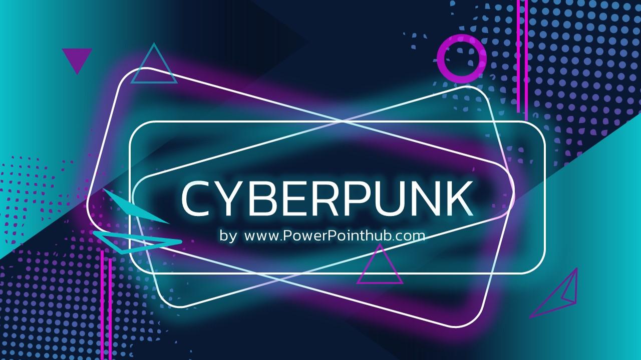 Cyberpunk Powerpoint Template Powerpoint Hub