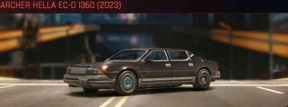 Cyberpunk 2077 Vehicle Guide cyberpunk 2077 archer hella ec d i360 2023