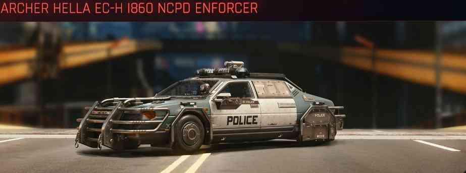 Cyberpunk 2077 Vehicle Guide cyberpunk 2077 archer hella ech i860 ncpd enforcer