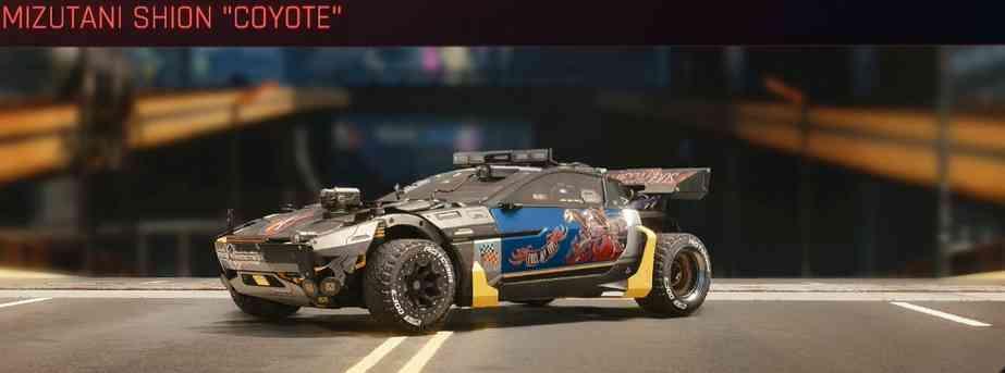 Cyberpunk 2077 Vehicle Guide cyberpunk 2077 mizutani shion coyote