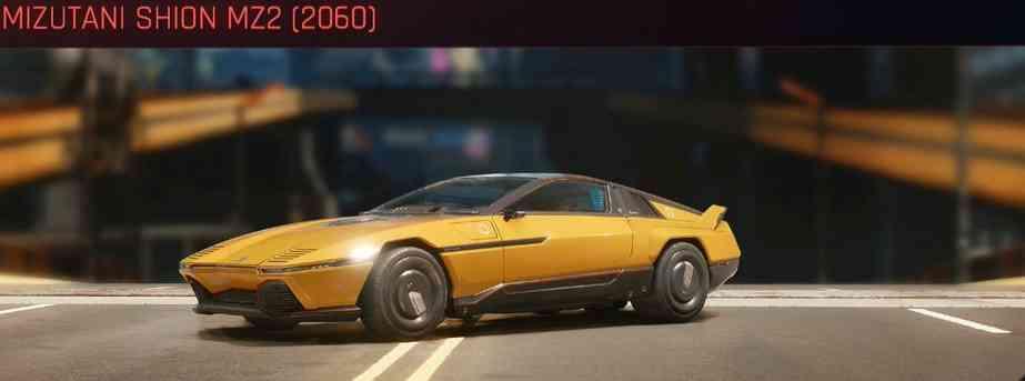 Cyberpunk 2077 Vehicle Guide cyberpunk 2077 mizutani shion mz2 2060