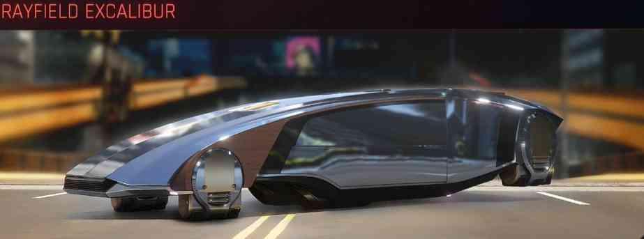 Cyberpunk 2077 Vehicle Guide cyberpunk 2077 rayfield