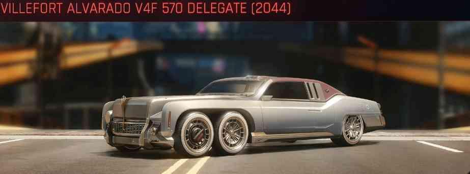 Cyberpunk 2077 Vehicle Guide cyberpunk 2077 villefort avarado v4f 570 delegate 2044