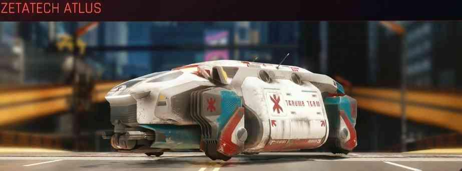Cyberpunk 2077 Vehicle Guide cyberpunk 2077 zetatech atlus