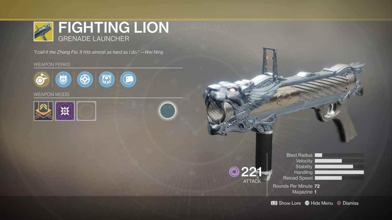 Image result for destiny 2 fighting lion