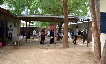 Hospital de Guinea Bor II - Chad