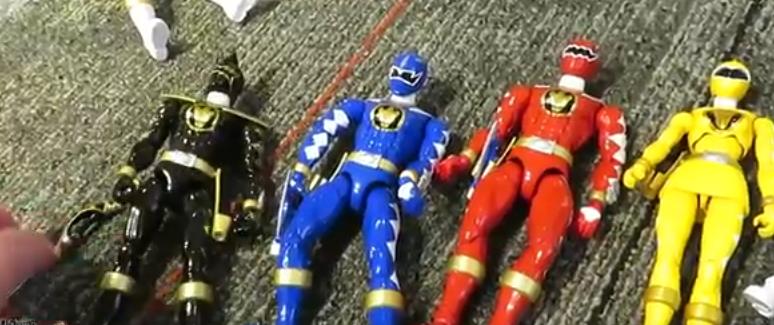 Legacy Zeo, Dino Thunder Figures Revealed - Power Rangers NOW
