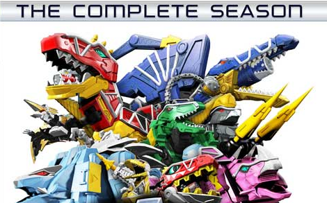 Dino Super Charge Complete Season DVD Announced