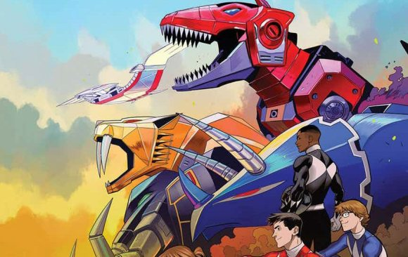 Go Go Power Rangers Issue #2 Details