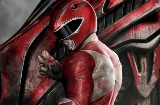 Acme Archives' Red Ranger Art Revealed
