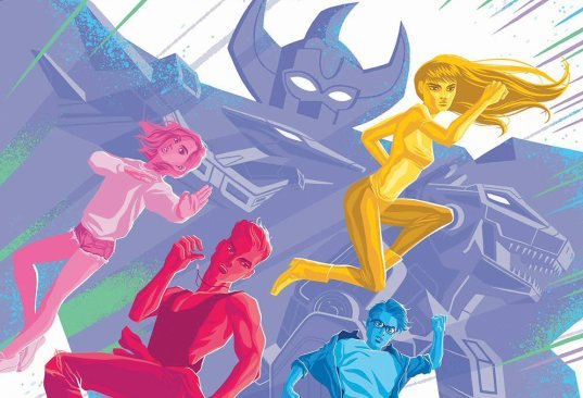 PREVIEW: Mighty Morphin Power Rangers 2017 Annual