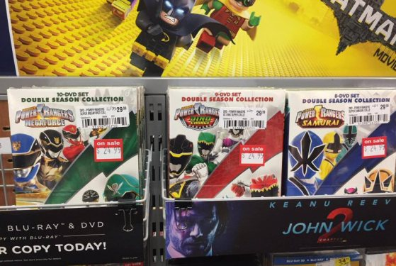 New Power Rangers DVD Collections Released