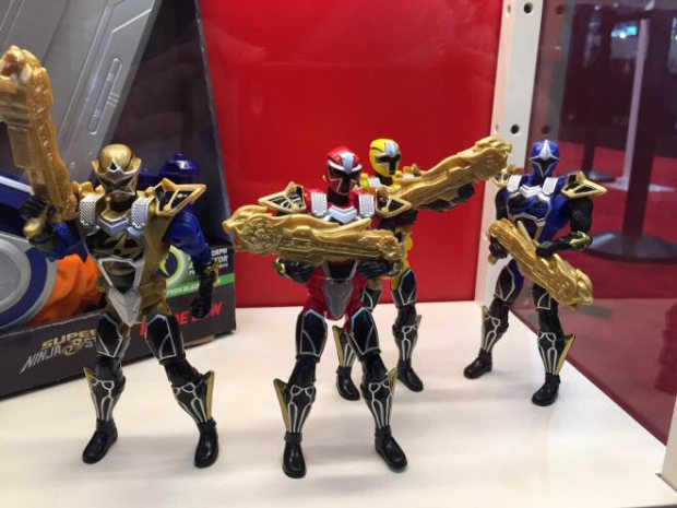 First Super Ninja Steel Toys Revealed