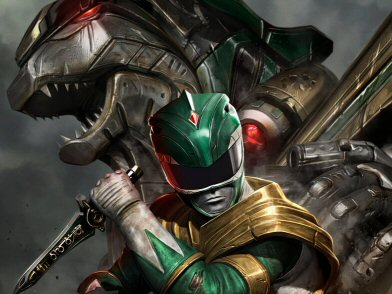 Acme Archives' Green Ranger Art Revealed