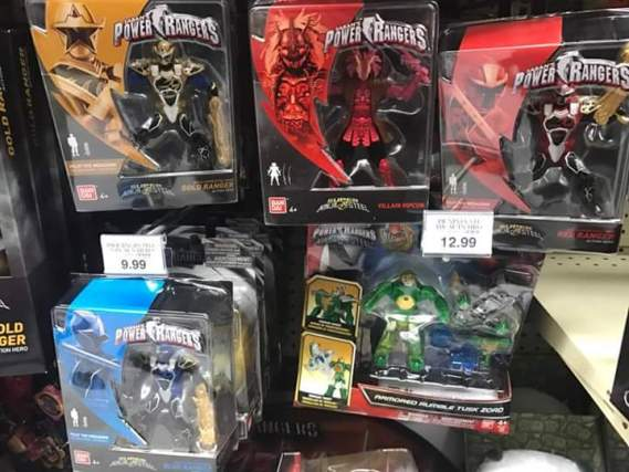 First Super Ninja Steel Toys Released
