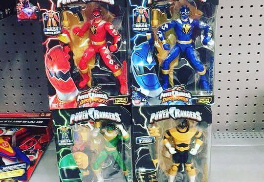 Legacy Zeo, Dino Thunder Figures Released