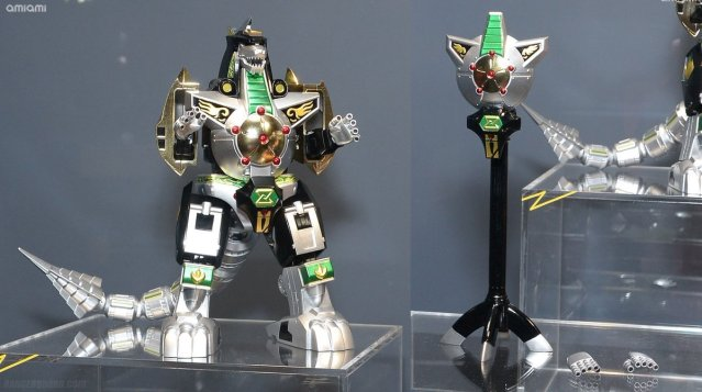 Tamashii Nations' Diecast Dragonzord Revealed