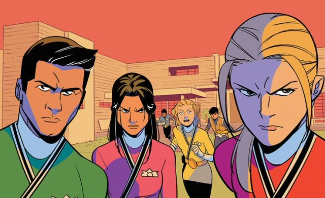 Preview: Mighty Morphin Power Rangers #26