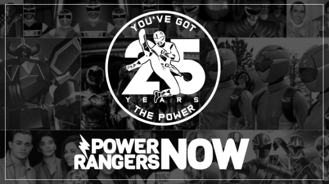 Power Rangers NOW To Celebrate 25 Powerful Years