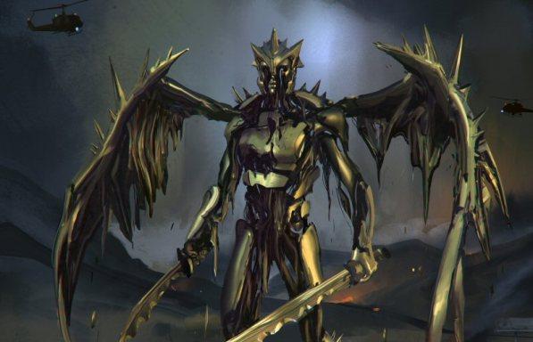 New Rejected Power Rangers Movie Goldar Designs