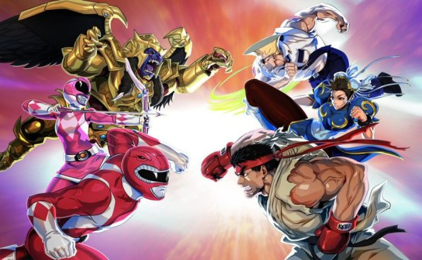 Capcom's Street Fighters To Join Power Rangers: Legacy Wars