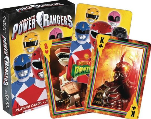 Power Rangers 25th Anniversary Puzzle, Lunchbox, Cards Revealed