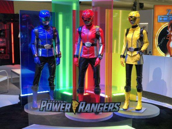 Power Rangers Beast Morphers Invades Licensing Expo