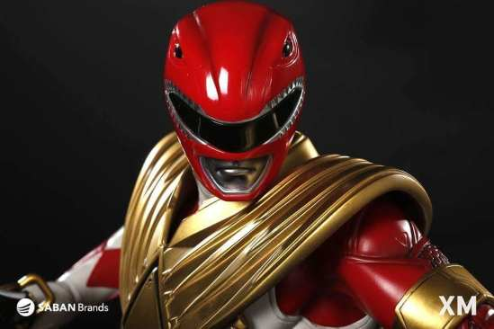 XM Studios' Red Ranger Statue Revealed