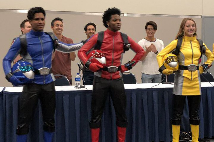 power rangers beast morphers cast revealed power rangers now power rangers beast morphers cast