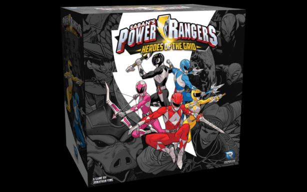 Power Rangers: Heroes Of The Grid Board Game Announced