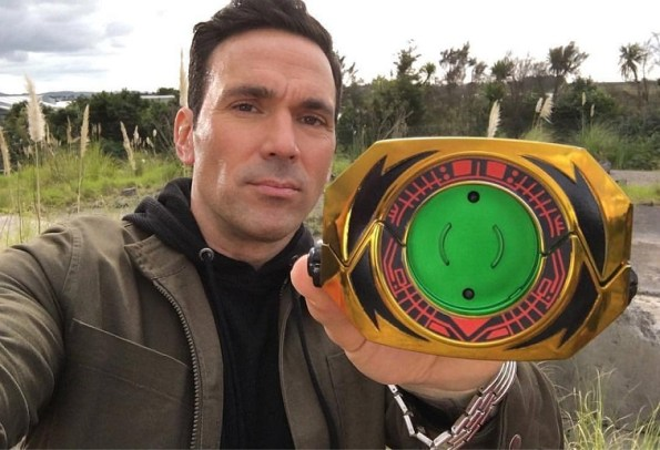 Tommy Oliver's Master Morpher Introduced