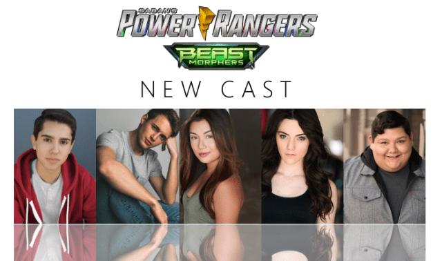 New Power Rangers Beast Morphers Cast Announced