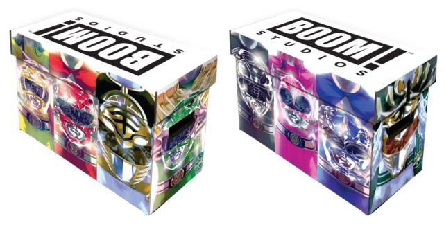 Power Rangers Short Box Released