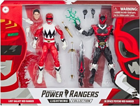 Power Rangers Lost Galaxy, Psycho Ranger Lightning Collection Pack Revealed