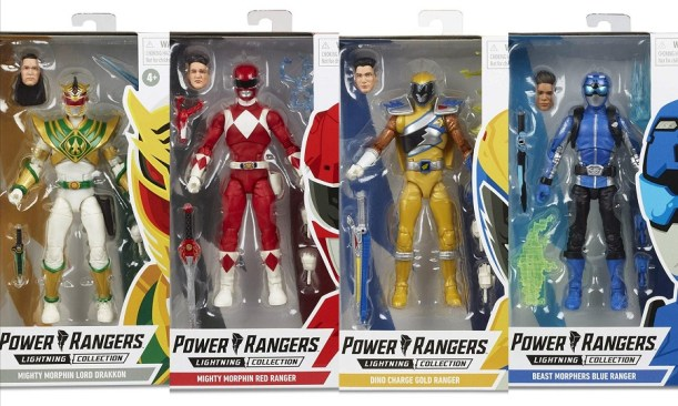 Power Rangers Wave 3 Lightning Collection Figures Revealed