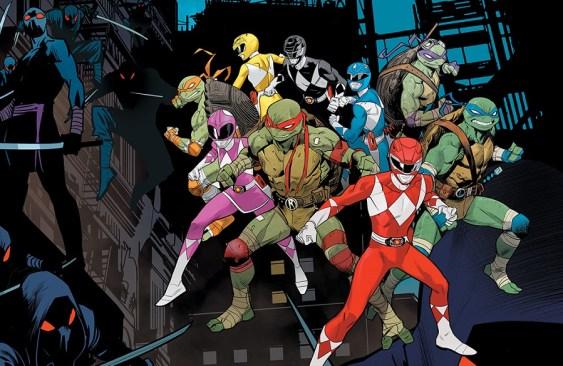 Mighty Morphin Power Rangers/Teenage Mutant Ninja Turtles Issue #3 Details