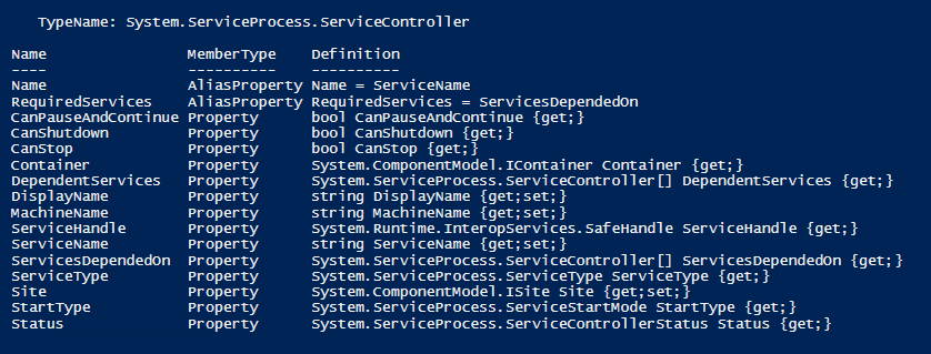 PowerShell Tip of the Week: Get-Service example
