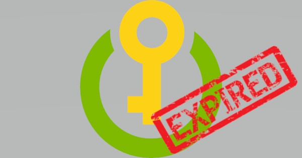 KeyVault expired