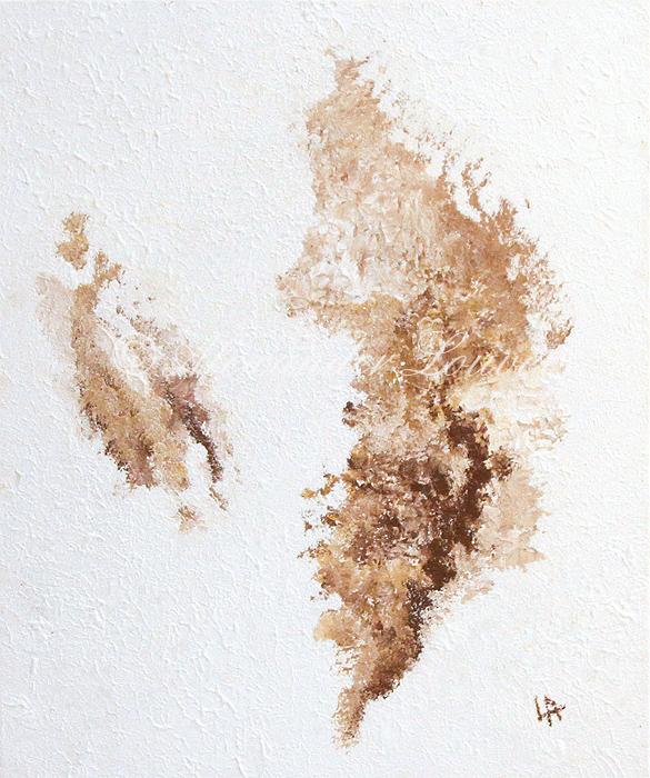 "Painting - ""DREAM-ISLAND"" Acrylic 60X50"