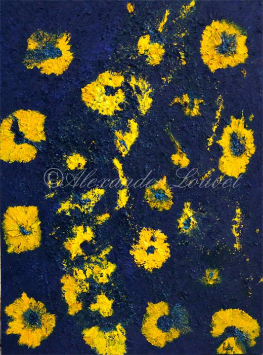 """Painting """"OCEAN EUROPE"""" Oil 80X60"""