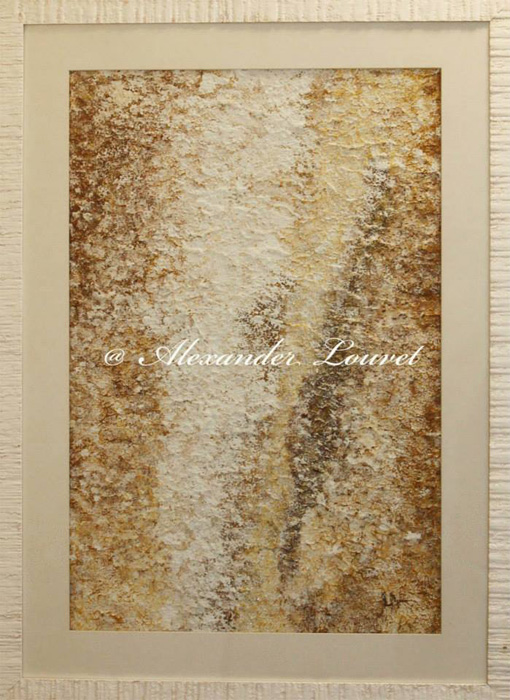 "Painting ""SEASIDE"" Latex 50X70"