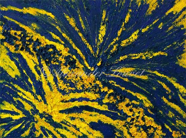"Painting ""EU ENERGY"" Oil 80X60"